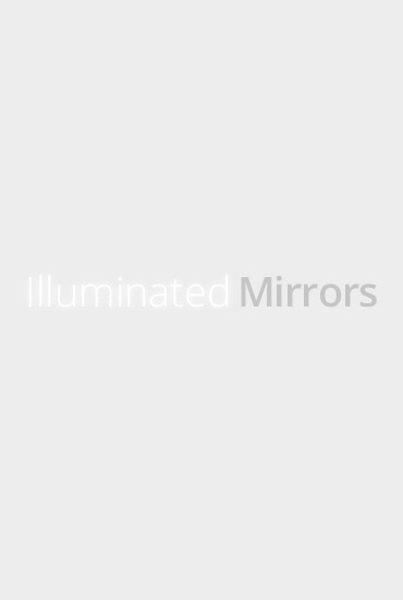 Miroir High Gloss Lucienne Noir (Grand)