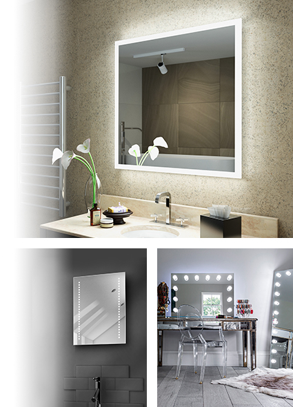 LED Bathroom Mirror Ranges