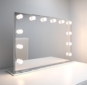 Miroir table de maquillage